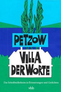 "Cover ""Petzow – Villa der Worte"" (vbb)"